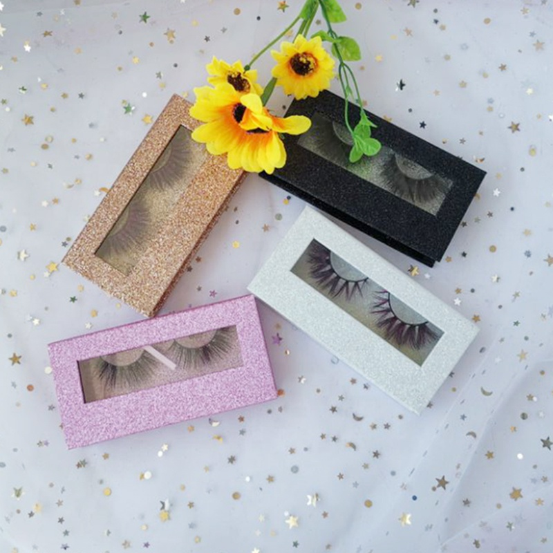 3d mink lashes vender natural crisscross fluffy mink eyelash