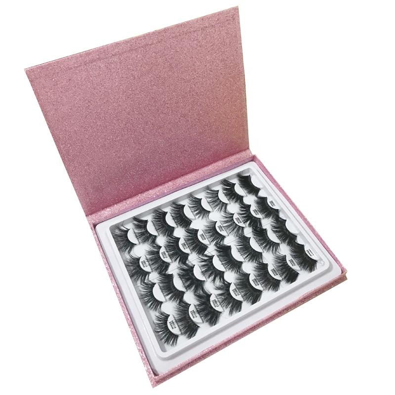 16 Pairs 25mm Mink Eyelashes Lash Book